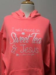 Sweet Tea & Jesus Hoodie