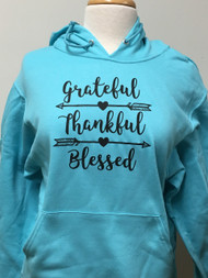 Grateful Thankful Hoodie