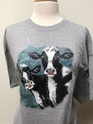 Seeing Double (Cow) Tee