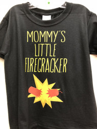 Mommy's Little Firecracker Youth Tee