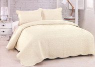 Harm Mist - Ivory Queen Quilt SET