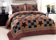 Prairie Star Queen Quilt SET