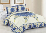 Laura Mae Queen Quilt SET