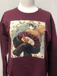 Snowman & Berries Sweatshirt