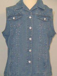 All Over Vest (Denim)