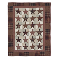 Abilene Star Quilted Throw 70x55