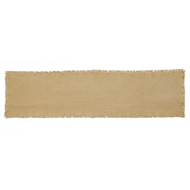 Burlap Natural Runner Fringed 13x48