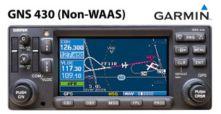 Garmin GNS 430 Non-WAAS (with Terrain)