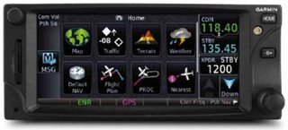 Garmin GTN 650 GPS/NAV/COM w/rack, backplate, conn kit, config module, and product information kit