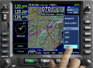Avidyne IFD540 Touch Screen FMS/GPS/NAV/COM