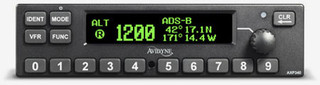 Avidyne AXP340 Transponder, Black Bezel (Includes AXP340 Install Kit)