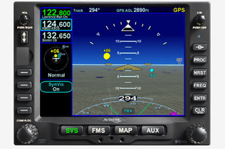 Avidyne IFD550 Touch Screen, 10W, GPS/NAV/COM WIFI/BT/FLTA/ARS (Install Kit Included)