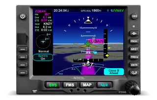 Avidyne IFD545 GPS/NAV/COM WIFI/BT/FLTA/ARS (Install Kit Included)