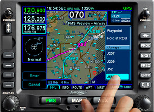Avidyne IFD540 Touch Screen 10W FMS/GPS/NAV/COM WIFI/BR/FLTA (Install Kit Included)