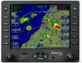 Avidyne EX600 w/CMax Multi-Function Display