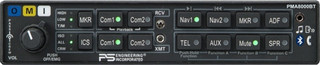 PS Engineering PMA8000BT Audio Selector Panel W/Built-In Bluetooth Interface