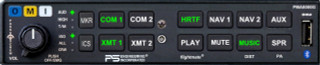 PS Engineering PMA8000G Advanced 6-Place Audio Panel W/USB Charger & PS Streamer