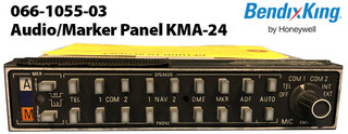 Bendix King Audio/Marker Panel KMA-24