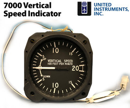United Instruments Vertical Speed Indicator