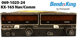 Bendix King KX-165 Nav/Comm (28V)