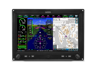 """alid for use in VFR- and IFR-capable installations, the certified G3X Touch displays are designed to interface with select autopilots, including our GFC 500 digital autopilot³. Fully coupled LPV/LNAV/ILS approach capability — including missed approach procedures — can be accessed when the G3X Touch displays are paired with the GFC 500 autopilot and a compatible navigation source, such as the GTN™ 750 or GTN 650 series. G3X Touch can also display ADS-B """"In"""" weather and traffic information when connected with the new GNX 375, GTX™ 345 transponder or the GDL® 50R or GDL 52R receiver. This includes our exclusive TargetTrend™ and TerminalTraffic™ technology, giving you a faster, more intuitive way to monitor ADS-B traffic targets. With GDL 51R or GDL 52R, you can also receive and display SiriusXM® aviation weather as well as listen to audio entertainment¹."""