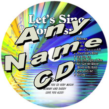 CUSTOM NAME - Let's Sing For Jesus Personalized Christian Music CD