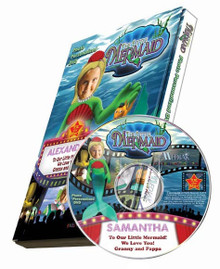 The Little Mermaid Personalized Kids DVD
