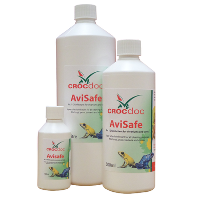 CROCdoc Avisafe a powerful and versatile disinfectant.  Can be used safely for a broad range of cleaning requirements.