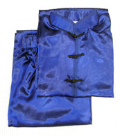 Rayon Satin competition Uniform - Blue #510B