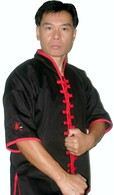 ¾ Sleeve Uniform w/red Trim & Stripe #588R
