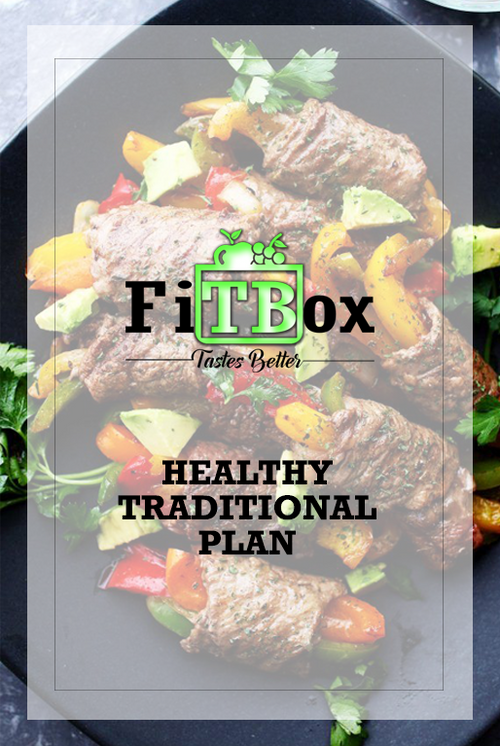 Healthy Traditional Meal Plan by MiamiFitBox