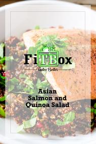 Asian Salmon and Quinoa Salad