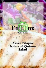 Asian Tilapia Loin and Quinoa Salad