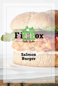 Healthy Salmon Burger