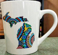 Michigan Mug-Colorful