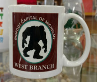 WB Bigfoot Capital of MI Mug
