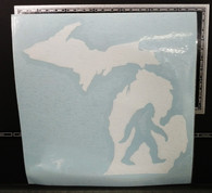 Michigan Bigfoot Decal