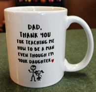 Dad/Daughter Mug