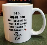 Dad/Daughter Mug