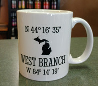 West Branch Coordinate Mug 11 oz.