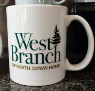 West Branch Up North Mug