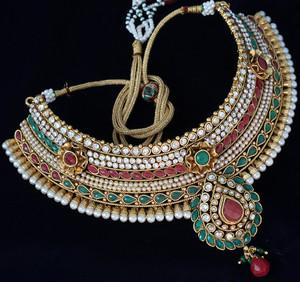 Emerald,Ruby Bridal Jewelry