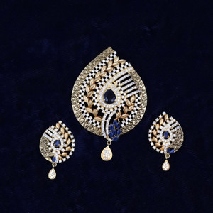 Sapphire Blue pendant set