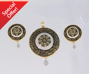 Gorgeous and unique Round Pendant.  Just only 19.99