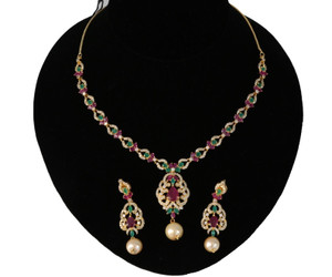 AD necklace set with Low price