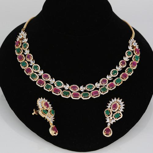 Indian CZ AD Stone Jewellery