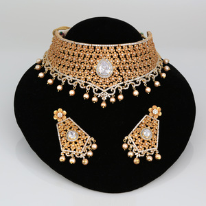 18KT Gold plated Gold plated Wedding bridal jewelry