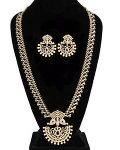Blue Sapphire Zircon Indian Bridesmaid jewelry