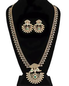 Green Emerald Cubic zirconia Bridesmaid jewelry