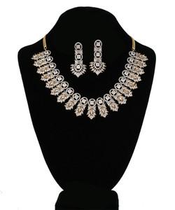 Clear Crystal Rhinestone Imitation Party Wear Jewellery